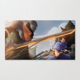 League of Legends - Project Against Classic Yasuo Canvas Print