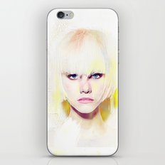 The girl who refuses the fear iPhone & iPod Skin