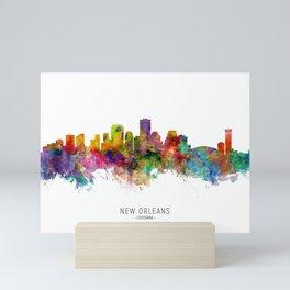 New Orleans Louisiana Skyline Mini Art Print