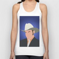 anchorman Tank Tops featuring Champ Kind - Anchorman by Tom Storrer