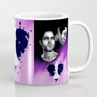 sterek Mugs featuring Sterek -BlackHeart by xKxDx