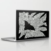 gotham Laptop & iPad Skins featuring Over Gotham by Matt Larsen