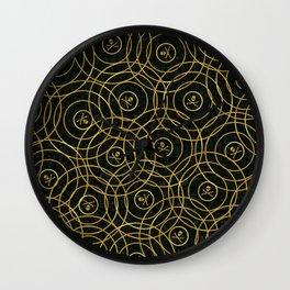 Random Rings Wall Clock