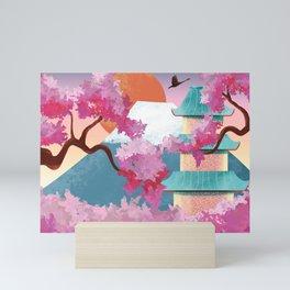 Fuji mountain  Mini Art Print