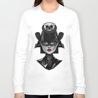 samurai Long Sleeve T-shirts featuring Samurai by Giulio Rossi