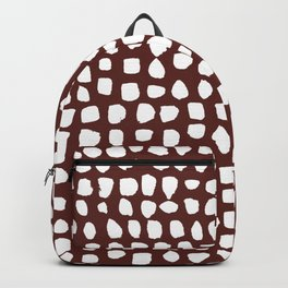 Dots (Wine) Backpack