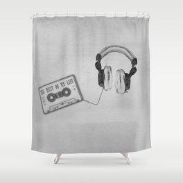 Music, please! Shower Curtain