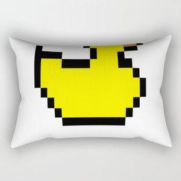 8-bit-Duck Rectangular Pillow