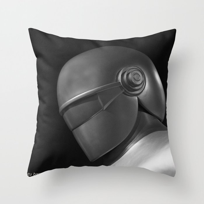 Klaatu 1 Throw Pillow