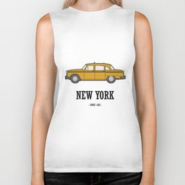 New York Cab Biker Tank
