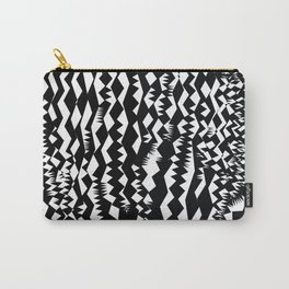 Still Zebra Carry-All Pouch