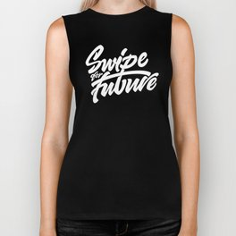 Swipe for Future Lettering Biker Tank