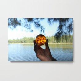 seven star at lake. Metal Print