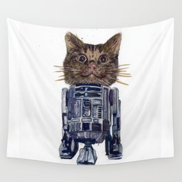 Cat2D2 Wall Tapestry