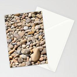River Rocks Pebbles Stationery Cards