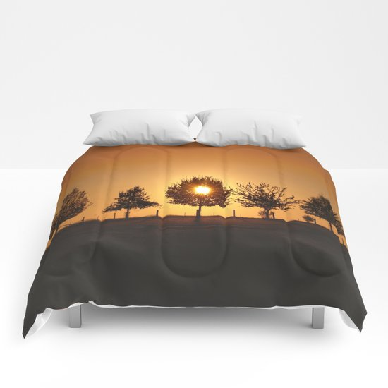 Beautiful Nature Panorama Comforters
