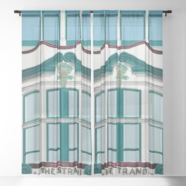 The Strand Building Sheer Curtain