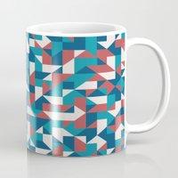 native Mugs featuring Native by Matt Borchert