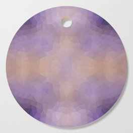 Mozaic design in soft colors Cutting Board