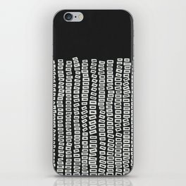 White Bricks iPhone Skin