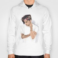 coconutwishes Hoodies featuring Zayn Floral Crown by Coconut Wishes