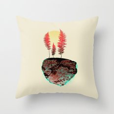 Summer Anthem Throw Pillow