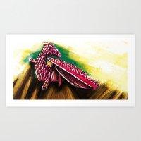 drac Art Print