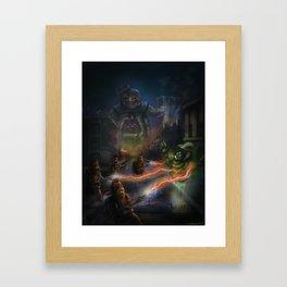 Choose the Destructor Framed Art Print