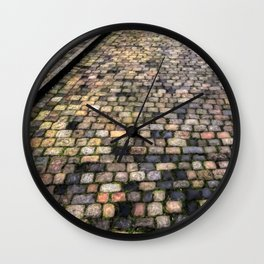 Endless Cobblestones Wall Clock