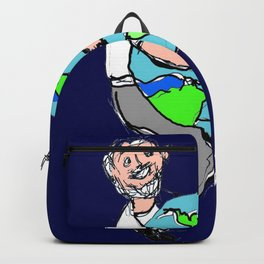 Its LOVE what  makes the World go round!     by Kay Lipton Backpack