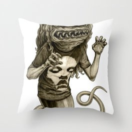 Demon Throw Pillow