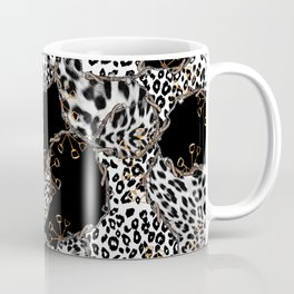 Chains and Leopard Skin Coffee Mug