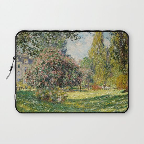 The Parc Monceau by Claude Monet by palazzoartgallery