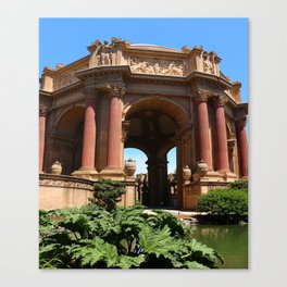 Palace of Fine Arts - Marina District Canvas Print