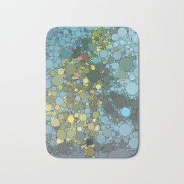 Irma artwork pool water Bath Mat