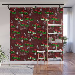 Elves Jingle Wall Mural