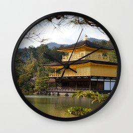 The Golden Pavilion (Kinkaku-ji) Wall Clock