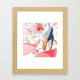 spring is coming Framed Art Print