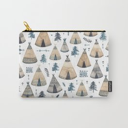 Tepees! Carry-All Pouch