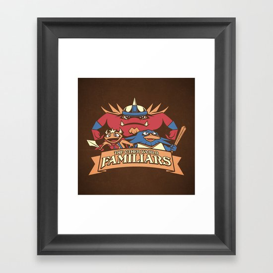 The Other World Familiars Framed Art Print