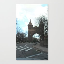 New Haven Underpass Canvas Print