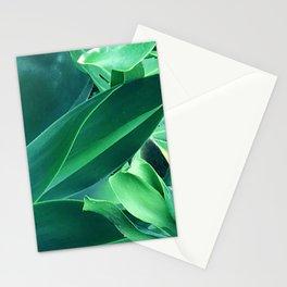 Fine Art Melange of Lush Leaves Photo Stationery Cards