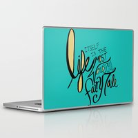 fairy tale Laptop & iPad Skins featuring Fairy Tale by Leah Flores