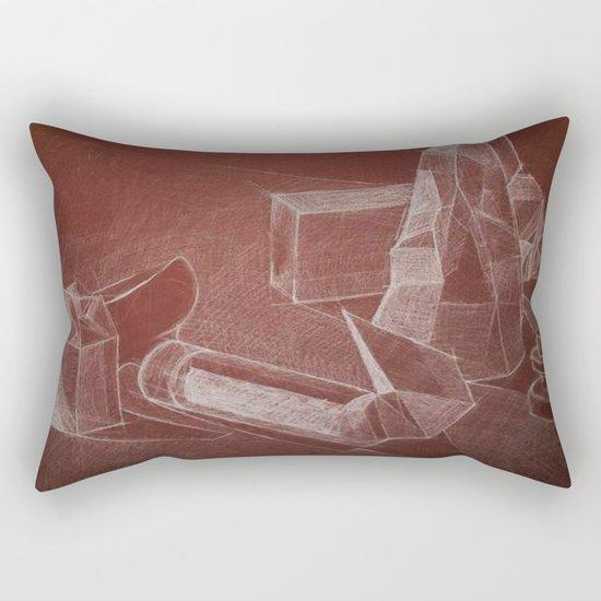 geometric nature Rectangular Pillow