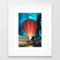 balloon Framed Art Prints featuring Balloon by John Turck