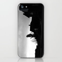 Silhouetted Stillness iPhone Case