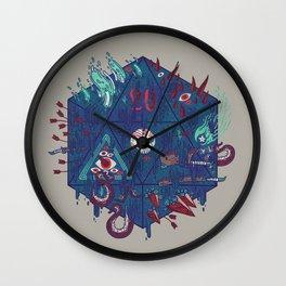 Die of Death Wall Clock
