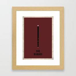 House of Cards - Zoe Framed Art Print