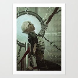 For The Mages Art Print