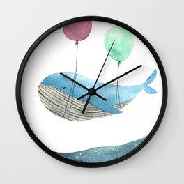 Just be happy Wall Clock